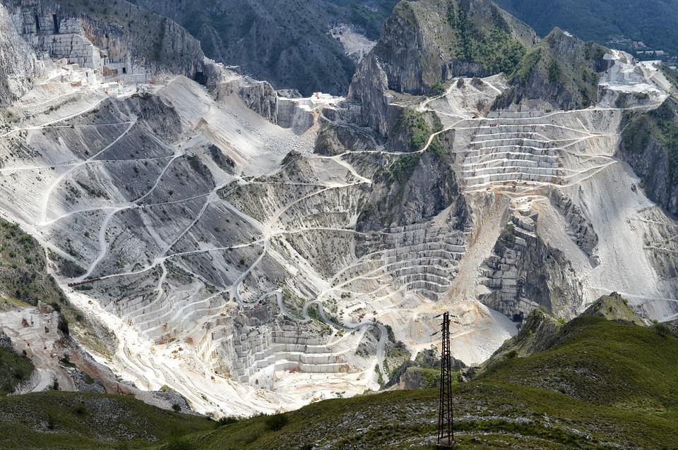 Il marmo di Carrara, un orgoglio italiano